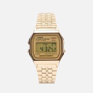 Наручные часы Vintage A158WETG-9AEF CASIO. Цвет: золотой