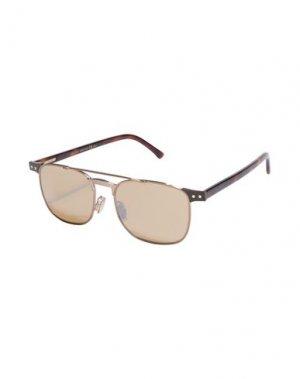 Солнечные очки JIMMY CHOO. Цвет: бронзовый