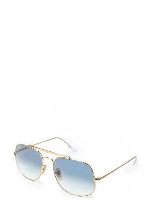 Очки солнцезащитные Ray-Ban® RB3561 001/3F. Цвет: золотой
