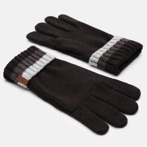 Перчатки, варежки, муфты Cable Premium Knit Glove Timberland. Цвет: черный