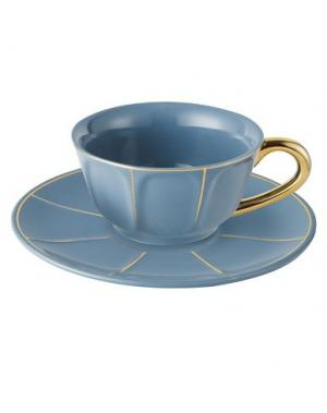 Для чая и кофе BITOSSI HOME. Цвет: пастельно-синий
