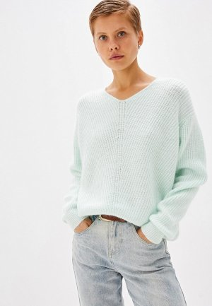 Пуловер Befree. Цвет: зеленый