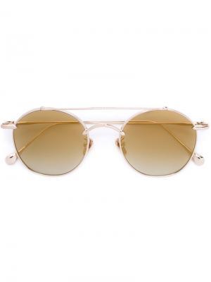 Солнцезащитные очки Egoistic Sunday I Frency & Mercury. Цвет: металлический