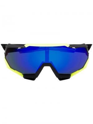 Солнцезащитные очки SpeedTrap 100% Eyewear. Цвет: черный