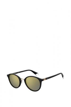 Солнцезащитные очки Polaroid. Цвет: золотой