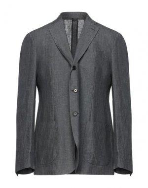 Пиджак ASPESI. Цвет: серый