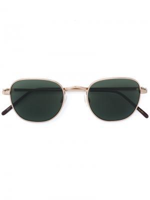 Солнцезащитные очки Kibits Moscot. Цвет: металлический