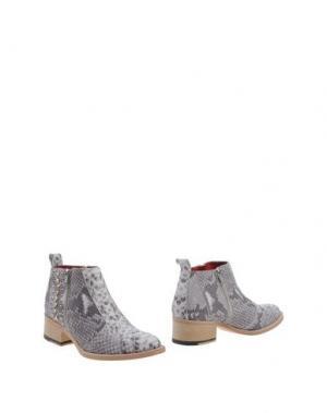 Полусапоги и высокие ботинки EL VAQUERO. Цвет: серый