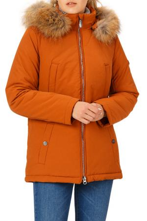 Куртка Finn Flare. Цвет: 622 sepia