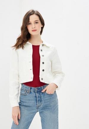 Куртка джинсовая Billabong BEAMING DREAM. Цвет: белый