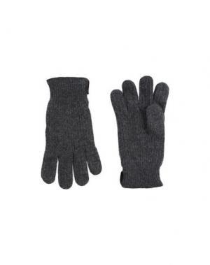 Перчатки MARIO PORTOLANO. Цвет: серый