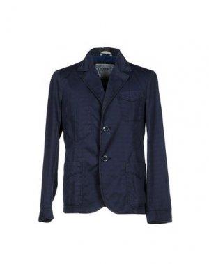 Пиджак GEOSPIRIT. Цвет: темно-синий
