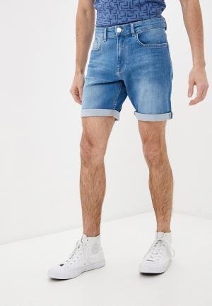 Шорты джинсовые Casual Friday by Blend. Цвет: голубой