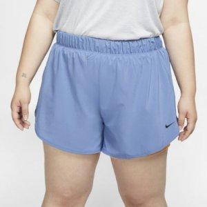 Женские шорты для тренинга 2 в 1 Flex (большие размеры) - Синий Nike