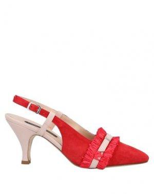 Туфли LORENA PAGGI. Цвет: красный
