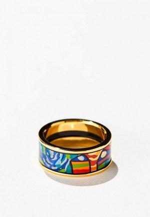 Кольцо Freywille Hommage a Hundertwasser. Цвет: разноцветный