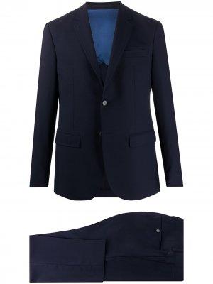 Строгий костюм-двойка Mr. Start Mackintosh. Цвет: синий