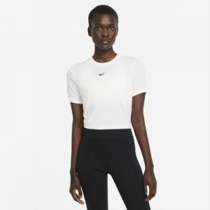 Женский укороченный топ Sportswear Essential - Белый Nike