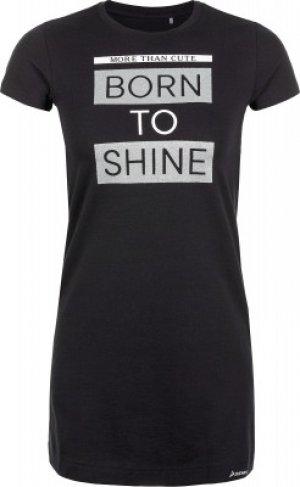 Платье , размер 140 Demix. Цвет: черный