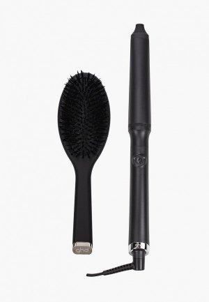 Стайлер GHD CURVE для укладки волос Королевская династия. Цвет: черный