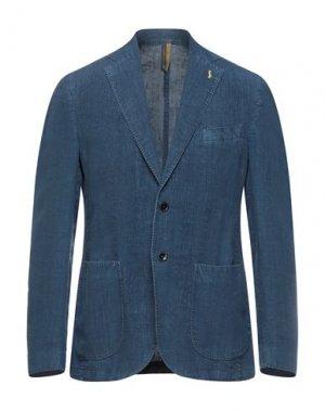 Пиджак HARMONT&BLAINE. Цвет: синий