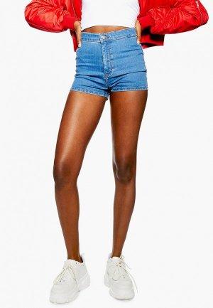 Шорты джинсовые Topshop. Цвет: голубой