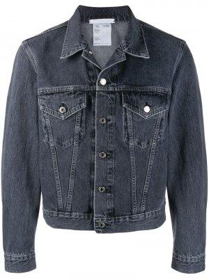 Джинсовая куртка Masc Helmut Lang. Цвет: серый