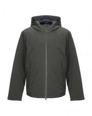 Куртка CENSURED. Цвет: темно-зеленый