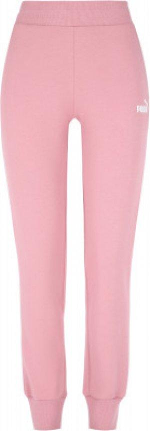 Брюки женские Essential, размер 40-42 Puma. Цвет: розовый