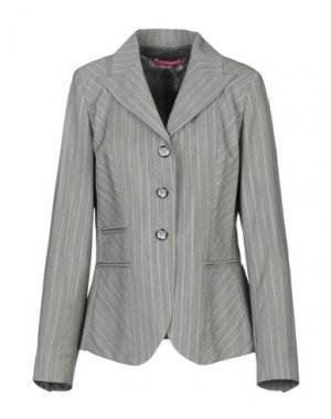 Пиджак FRANCESCA FERRANTE. Цвет: серый
