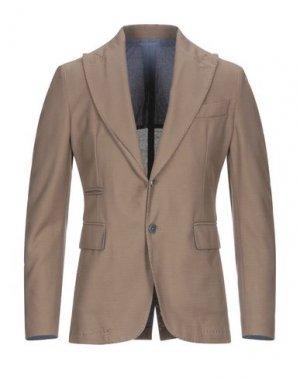 Пиджак JOHN SHEEP. Цвет: хаки