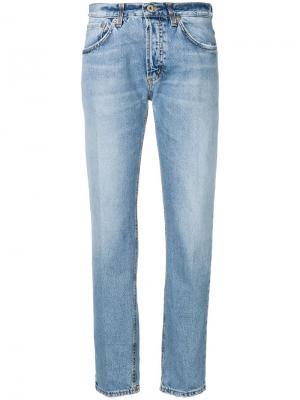 Зауженные джинсы со стрелками Dondup