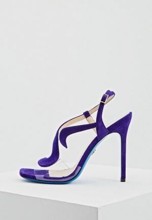 Босоножки Loriblu. Цвет: фиолетовый