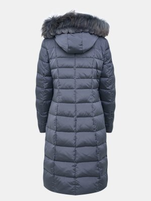 Удлиненная куртка Betty Barclay. Цвет: seryy