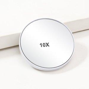 Зеркало Инструменты для макияжа SHEIN. Цвет: белый