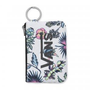 Кошелек с брелоком Wallet Keychain VANS. Цвет: белый