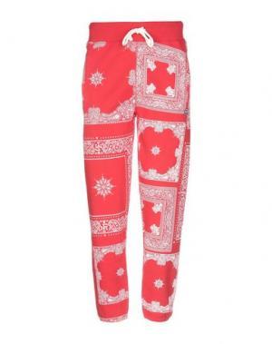 Повседневные брюки FRANKLIN & MARSHALL. Цвет: красный