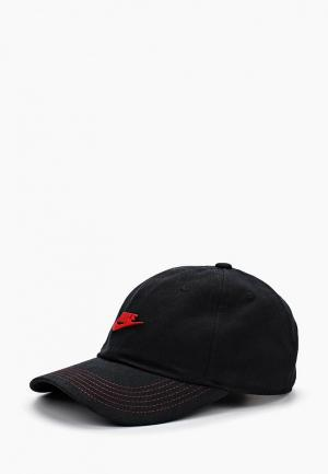 Бейсболка Nike Y NK H86 CAP SEASONAL. Цвет: черный