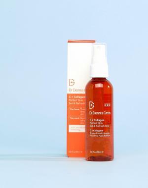 Освежающий спрей для комплексного ухода за кожей лица C+Collagen Perfect Skin-Бесцветный Dr Dennis Gross