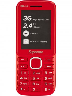 Телефон BLU Burner Supreme. Цвет: красный