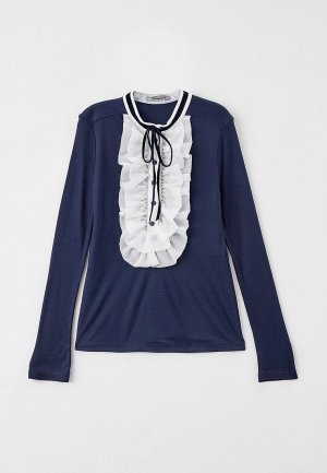 Блуза Choupette. Цвет: синий