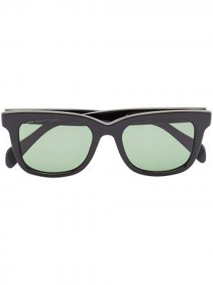 Солнцезащитные очки Viator Scout в квадратной оправе visvim. Цвет: черный