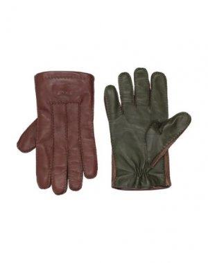 Перчатки ETRO. Цвет: какао