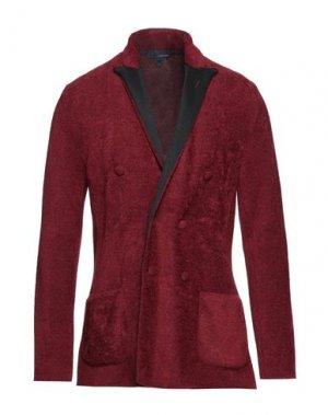 Пиджак LARDINI. Цвет: кирпично-красный