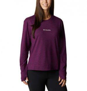 Лонгслив женский Bryce Canyon™, размер 46 Columbia. Цвет: фиолетовый