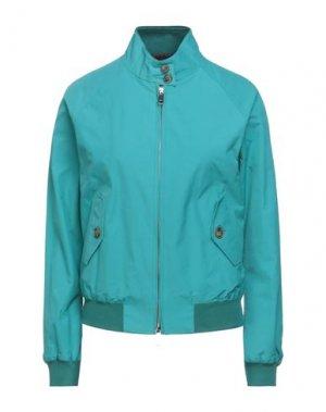 Куртка BARACUTA. Цвет: бирюзовый