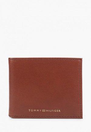 Кошелек Tommy Hilfiger. Цвет: коричневый