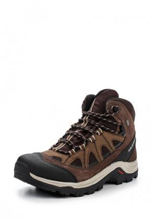 Ботинки трекинговые Salomon AUTHENTIC LTR GTX®. Цвет: коричневый