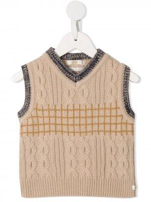 Пуловер с V-образным вырезом Fith. Цвет: нейтральные цвета