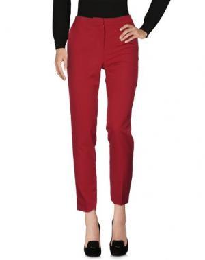 Повседневные брюки ANNA RACHELE. Цвет: пурпурный